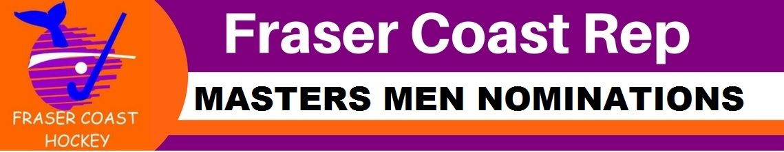 2019 Fraser Coast Masters Men Nominations
